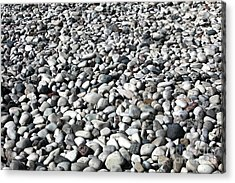 Rocks Of The Greek Acrylic Print by John Rizzuto