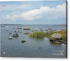 Rocks On The Baltic Sea Acrylic Print