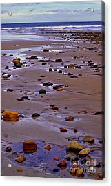 Rocks On The Seashore Acrylic Print