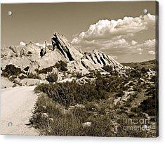 Rocks On Warm Wind Acrylic Print by Gem S Visionary