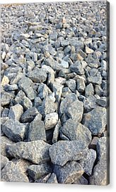 Rocks Acrylic Print by Roque Rodriguez