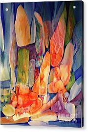 Rocks Underwater 2 Acrylic Print