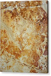 Acrylic Print featuring the photograph Rockscape 4 by Linda Bailey