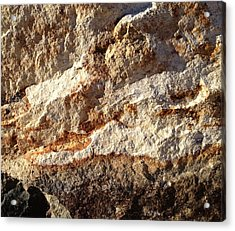 Acrylic Print featuring the photograph Rockscape 9 by Linda Bailey