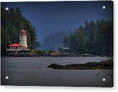 Rockwell Lighthouse Sitka Alaska Acrylic Print