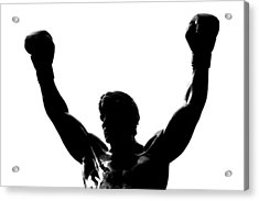 Rocky Acrylic Print by Benjamin Yeager