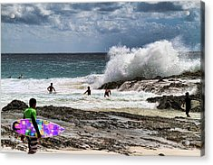 Acrylic Print featuring the photograph Rocky Break by David Rich