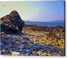 Rocky Coast Acrylic Print by Ernest Puglisi