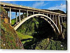 Rocky Creek Bridge Acrylic Print by Benjamin Yeager