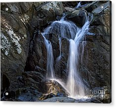 Rocky Falls Acrylic Print by Dale Nelson