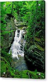 Rocky Glen Falls Acrylic Print