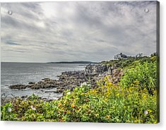 Acrylic Print featuring the photograph Rocky Maine Shoreline by Jane Luxton