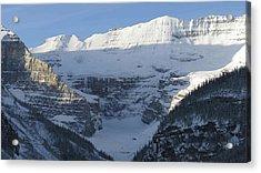 Rocky Mountain Blue Acrylic Print by Cheryl Miller