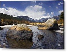 Rocky Mountain Creek Acrylic Print