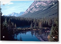 Rocky Mountain Gem Acrylic Print by Jim Sauchyn