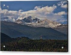 Rocky Mountain High Acrylic Print by Anne Rodkin