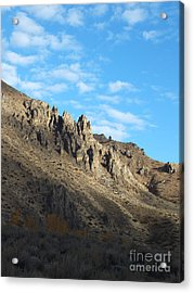 Rocky Mountain Acrylic Print by Kimberly Maiden