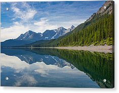 Rocky Mountain Moment Acrylic Print by Laura Bentley