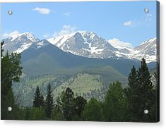 Acrylic Print featuring the photograph Rocky Mountain National Park - 2 by Christy Pooschke