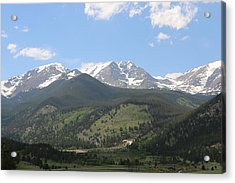 Acrylic Print featuring the photograph Rocky Mountain National Park - 3  by Christy Pooschke