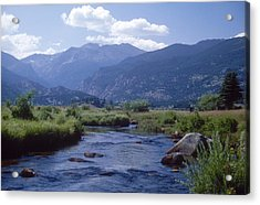 Rocky Mountain National Park Acrylic Print