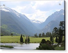 Acrylic Print featuring the photograph Rocky Mountain National Park  by Christy Pooschke
