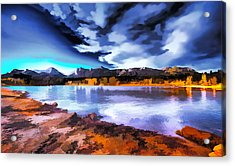 Rocky Mountain Surprise Acrylic Print