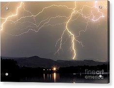 Rocky Mountain Thunderstorm  Acrylic Print by James BO  Insogna