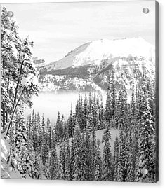 Rocky Mountain Vista Acrylic Print by Cheryl Miller