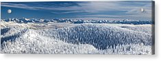 Acrylic Print featuring the photograph Rocky Mountain Winter by Aaron Aldrich