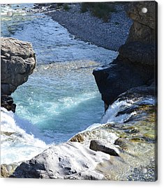 Elbow Falls Water  1.1 Acrylic Print