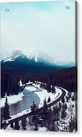 Acrylic Print featuring the photograph Rocky Mountains by Kim Fearheiley