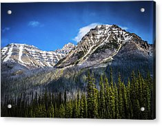 Acrylic Print featuring the photograph Rocky Mountains Kootenay National Park by Rob Tullis