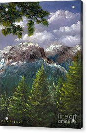 Rocky Mountains National Park Colorado Acrylic Print