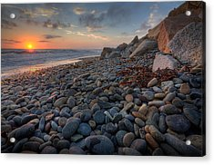 Rocky North Ponto Acrylic Print by Peter Tellone
