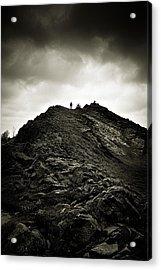 Rocky Pathway To Scotland Acrylic Print