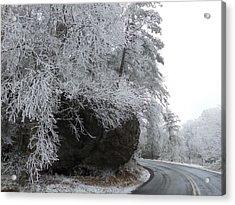 Rocky Road On Ice Acrylic Print