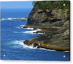 Acrylic Print featuring the photograph Rocky Shores by Tikvah's Hope