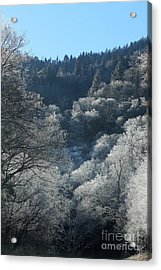 Rocky Top Winter Acrylic Print