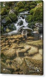 Rocky Waterfall Acrylic Print