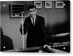 Rod Serling Acrylic Print by Rob Hans