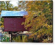 Roddy Road Covered Bridge Acrylic Print