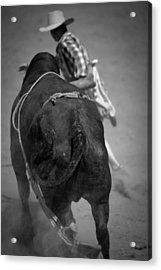 Rodeo Clown Acrylic Print