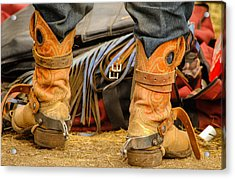 Rodeo Cowboy Tools Of The Trade Acrylic Print by Miki  Finn
