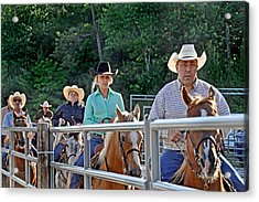 Rodeo Participaters Acrylic Print