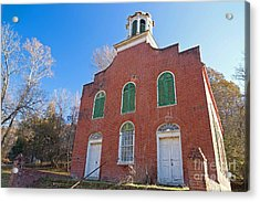 Rodney Presbyterian Church Acrylic Print by Russell Christie