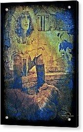 Roger Daltrey Acrylic Print by Absinthe Art By Michelle LeAnn Scott