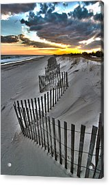 Rogers Beach First Day Of Spring 2014 Acrylic Print