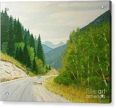 Rogers Pass Bc Acrylic Print