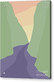 Rogue River Canyon Acrylic Print